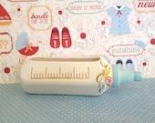 Vintage Ceramic NAPCO Baby Bottle Planter 1950's