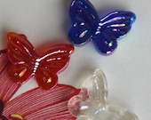 Red, White and Blue Butterflies