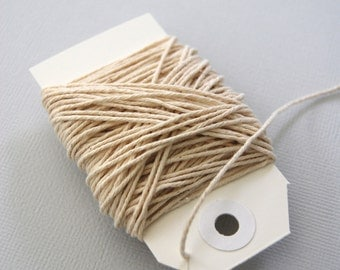 Solid Natural Twine 15 yards