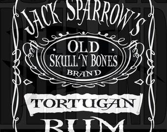 pirates of the caribbean RUM Jack Sparrow hooded sweatshirt hoodie