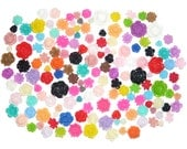 Flower Cabochons 200pcs Mix CLEARANCE at bargain price