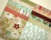 6 X 6 paper pack ASPEN FROST by Basic Grey - 12 sheets