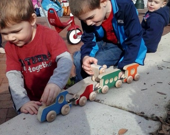 Handmade Wooden Train