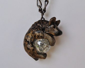 Hyena Necklace