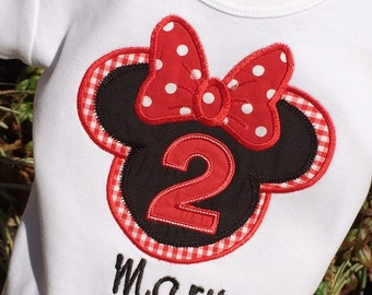 Girls Minnie Mouse Head