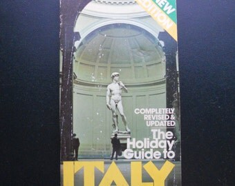 Vintage 1979 Guidebook: The Holiday Guide to Italy