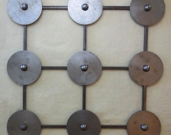 9 SERIES Metal Wall Art Panel