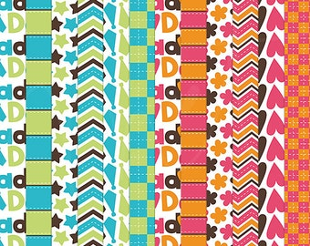 Me & My Dad Digital Papers - 12 patterns for scrapbooking, cards, invitations, printables and more - instant download - CU OK