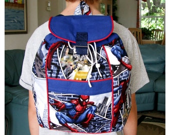 Spiderman Backpack, Toddler Backpack, Preschool Backpack, Boys and Girls Backpack