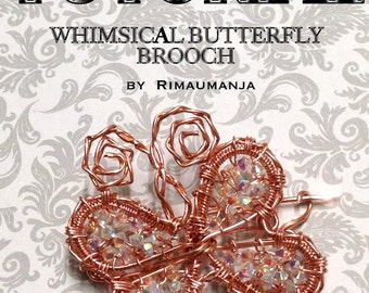 Whimsical Butterfly Brooch Pin Tutorial
