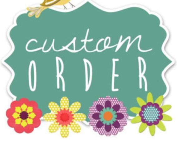 custom order musical hat and gloves