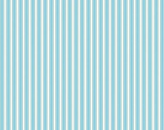 SALE Home Decor Free Spirit - Dena Designs - Sunshine Linen - Stripe - LIDF006 - Aqua BTY