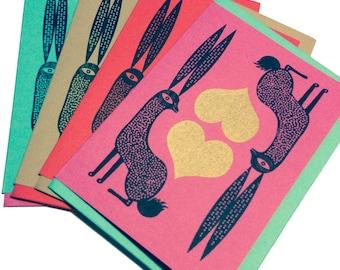 Golden Hare Card