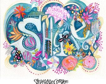 SHINE - ART PRINT