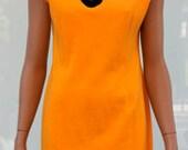 Vintage Kenar citrus Go-Go dress