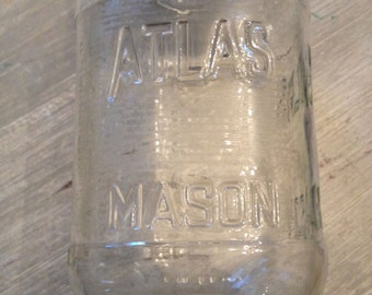 dating atlas strong shoulder mason jars Jars actually were embossed with this for over 50 years so the embossing in itself should not be the sole criteria for determining date and value an embossed only a few types of atlas jars are collectible: the atlas e-z seal, atlas h over a mason, and the atlas strong shoulder mason the e-z seal is a.