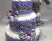 Traditional Design Diaper Cakes Boy / Girl / Nutral for memorable Baby Shower