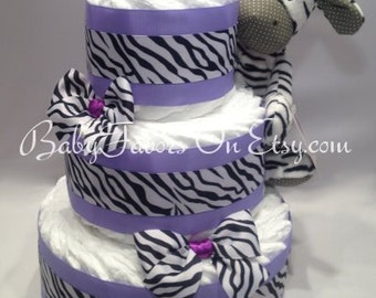 Traditional Design Diaper Cakes Boy / Girl / Nutral for memorable Baby Shower