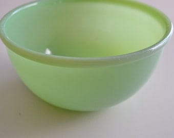 Fire King Jadeite Restaurant Ware Bowl