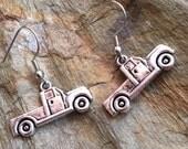 Truck charm earring (C- 311)