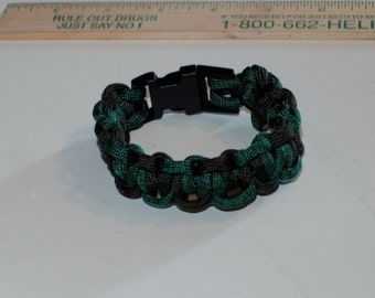 OD and Bright Green Lighting Paracord Bracelet