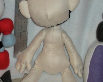 14 inch Plush Doll PATTERN