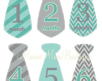 FREE GIFT, Monthly Baby Boy Stickers, Baby Month Stickers, Baby Bodysuit Sticker, Photo Prop Baby Milestone Sticker Uncut