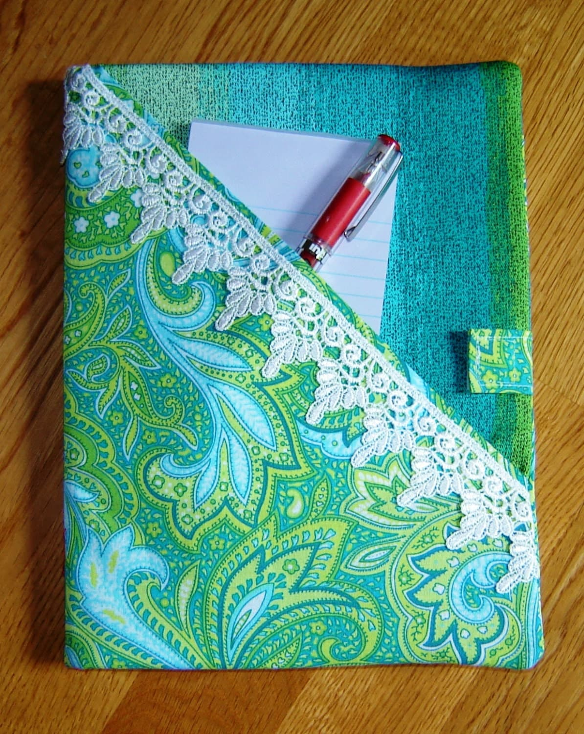 Fabric Composition Book Cover ~ Composition notebook cover
