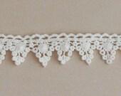 Alterable Crochet Trim Mini Banner by Maya Road