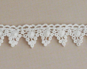 Alterable Crochet Trim Mini Banner by Maya Road