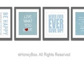 Wall art set, inspirational quotes, typography art prints, typography quote,motivational poster,quote,Inspirational Quotes,prints,wall decor