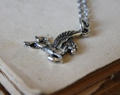 Pegasus Necklace - Mythology Necklace