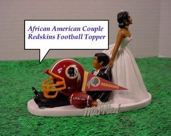 african american football wedding cake toppers popular items for sports fan on etsy 10595