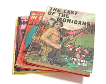 Vintage Bancroft Childrens Classics Books