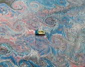 marbled paper Papel marmolado Bookbinding paper Marmorpapier carta marmorizzata cm 50 X 70 -    5130c