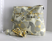 Monterey Diaper Bag Set -  Optic Blossom and Martini Or Custom Design Your Own - Large 9 Pockets