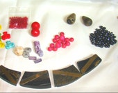 LAST CHANCE  Fun Lot of Misc. Beads for Crafting
