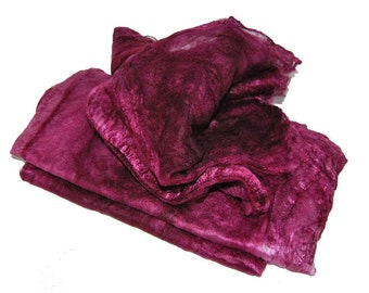 Mawatas Silk Hankies Plum Dark - 15 grams