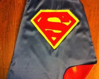 Superman Cape Size 2-8