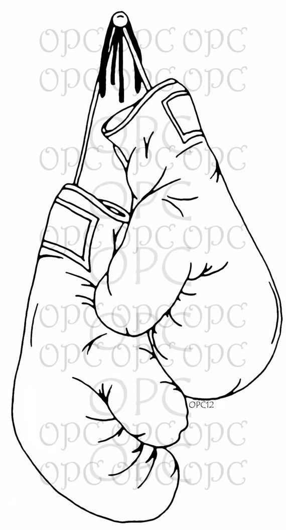 Holiday Coloring Pages  Boxing Gloves Coloring Pages  Free