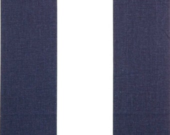 SALE - Premier Prints Fabric Vertical Stripe in Navy Blue and White -  Fat Quarter