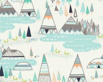 Art Gallery - Indian Summer Collection by Sarah Watson - Woodland Pine