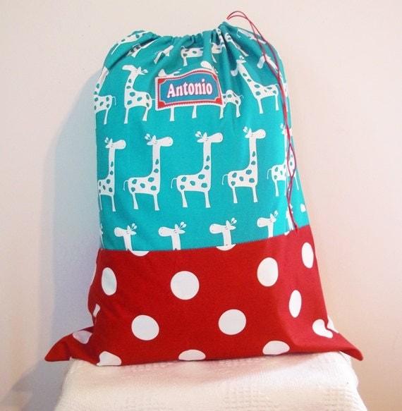 Huge Summer Camp Bag, Laundry Bag, 20 x 32 Bedding Bag, Kid's Summer Camp Bag, Sleeping Bag Cover, Summer Beach Bag, Drawstring Bag