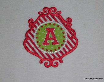 Christmas Ornament Applique Tshirt