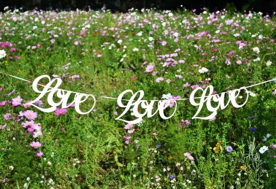 Love love love custom colour wedding banner