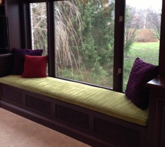 Alisaburke Diy Window Seat: Custom Sewn Window Seat Cushion With Cording Playroom