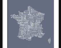 Popular Items For French Text On Etsy