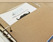 Keepsake Album Pocket - Kraft Brown -  Include in your Two Giggles Baby Album