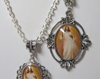 Divine Mercy two pendant set - AP31-001