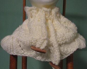Knit Cowl-Style Neckwarmer